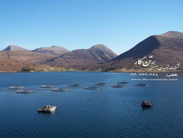 طراحی و اجرای قفس پرورش ماهی در جنوب کشور