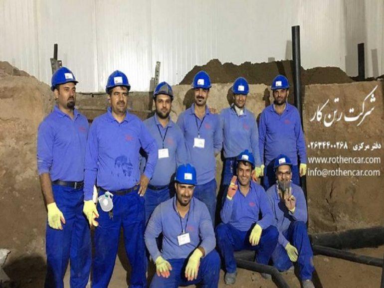 اجرای پروژه های آبرسانی و فاضلابی و صنعتی